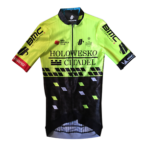 New 2018 Men's Hincapie Racing Team Arrow SS Cycling Race Jersey, Hi-Vis, Size S