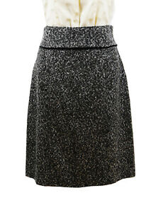 Grey-Black-Panel-Skirt