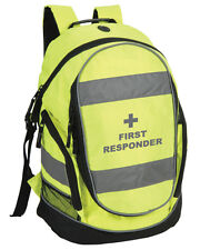 First Responder Hi-Vis Rucksack/Work Bag - Paramedic First Responder Ambulance