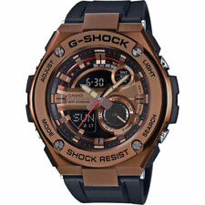Casio Men's G-Steel GST210B-4A Super Illuminator Quartz Rose Gold 52.5mm Watch