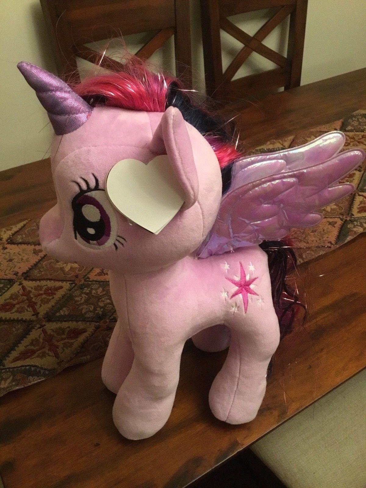 TY 16  Plush My Little Pony Twilight Sparkle Large Buddy