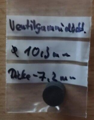 1 Schwimmerventilgummidichtung 10,3mm Duchmesser--7,2mm Dicke