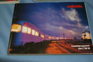 Marklin-Katalog-Catalog-1997-98-D