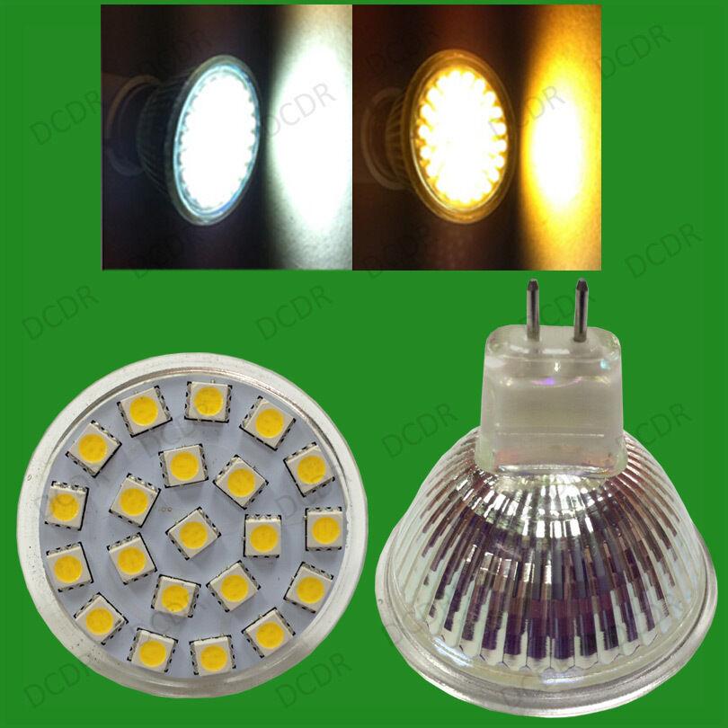 25 X 3w Led 12v Mr16 Gu5.3 Epistar Spot Glühbirnen Tageslicht Or Warm Weiß Lampe