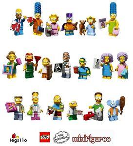 LEGO Simpsons Mini-figurines De Collection Séries 1 et 2 choisissez ...