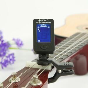 JOYO-JT-01-Mini-Bass-Guitar-Clip-on-Tuner-Violin-Ukulele-Electronic-Tuners-Parts