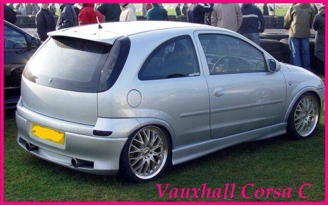 Vauxhall Corsa C Lester Roof Wing Spoiler For Sale Ebay
