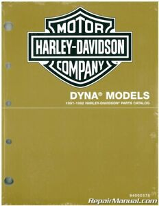 Harley Davidson 1991 1992 Dyna Motorcycle Parts Manual 94000378 Ebay