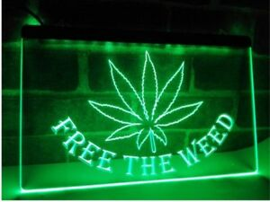 Image Is Loading Free The Weed High Life LED Neon Light