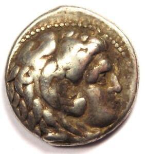Alexander-the-Great-III-AR-Tetradrachm-Coin-336-323-BC-VF-Very-Fine