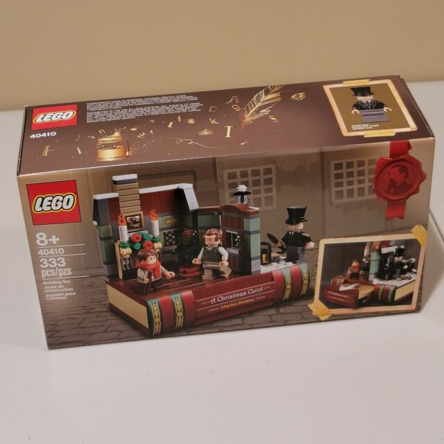 LEGO 40410 Charles Dickens A Christmas Carol Tribute Exclusive 333pcs New
