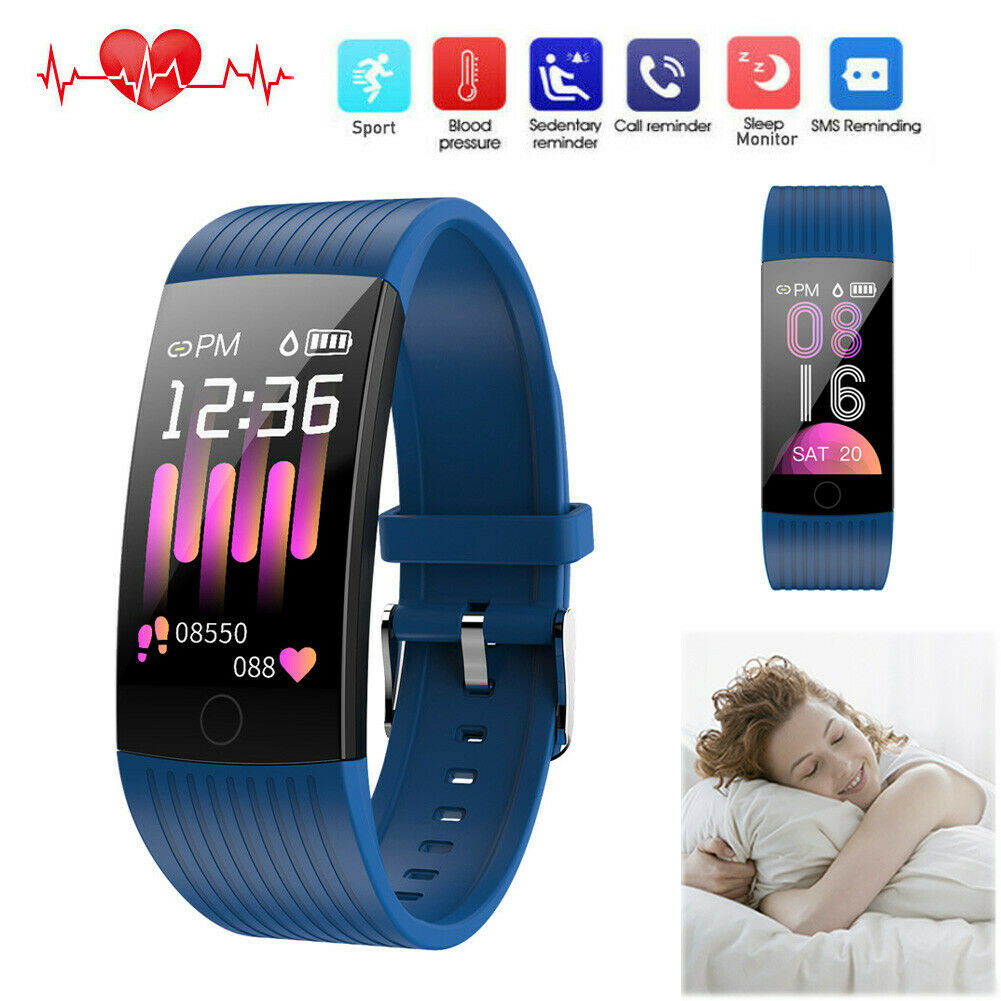 Smart Watch Fitness Tracker Sport Bracelet for Samsung M20 M10 A20e A40 A50 A70 bracelet Featured fitness for m10 m20 samsung smart sport tracker watch
