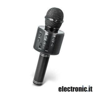 Microfono-con-altoparlante-bluetooth-nero-Forever-BMS-300