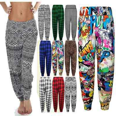 Genial Ladies Desi Ali Baba Harem Trousers Pants Leggings Baggy Aladdin Boho Hippy 2019 Offiziell
