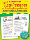 Quick Cloze Passages for Boosting Comprehension, Grades 4-6 by Scholastic US(Paperback / softback)