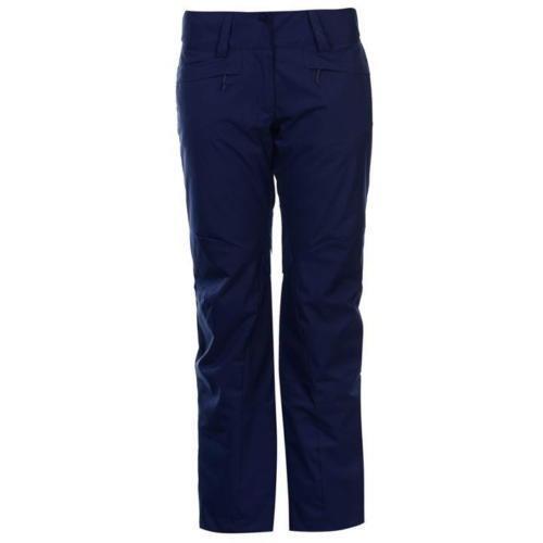 Salomon Rise Ski Pants Ladies Navy Size 12 (M)