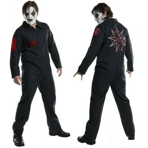 Halloween Cos Live Knot Band Clothes Cosplay Jumpsuit Cosplay Costume SlipKnot C