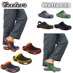 Coolers Mens Beach Garden Clogs Sports Pool Hospital Shoes Slip On Mule  UK 7-12