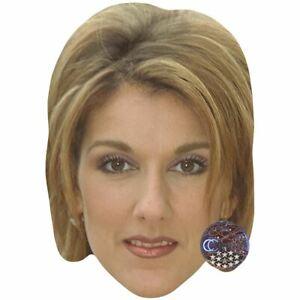 Card Face and Fancy Dress Mask Angela Lansbury Celebrity Mask