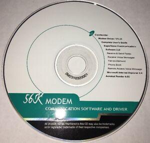 56K-Modem-Communication-Software-And-Driver-V1-01-CD-RARE-VINTAGE-SHIPS-N-24-HRS
