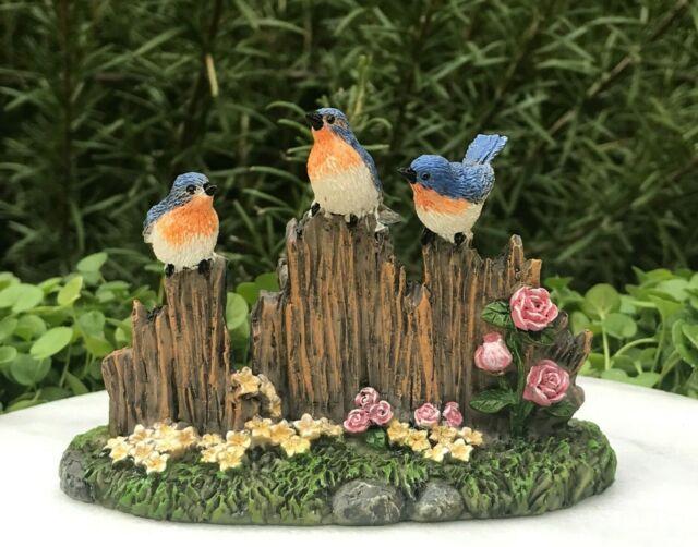 "Miniature Dollhouse FAIRY GARDEN  Accessories ~ TINY 1¼/"" Tall Gnome w// Flowers"