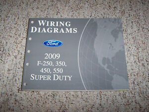 ford  super duty electrical wiring diagram manual