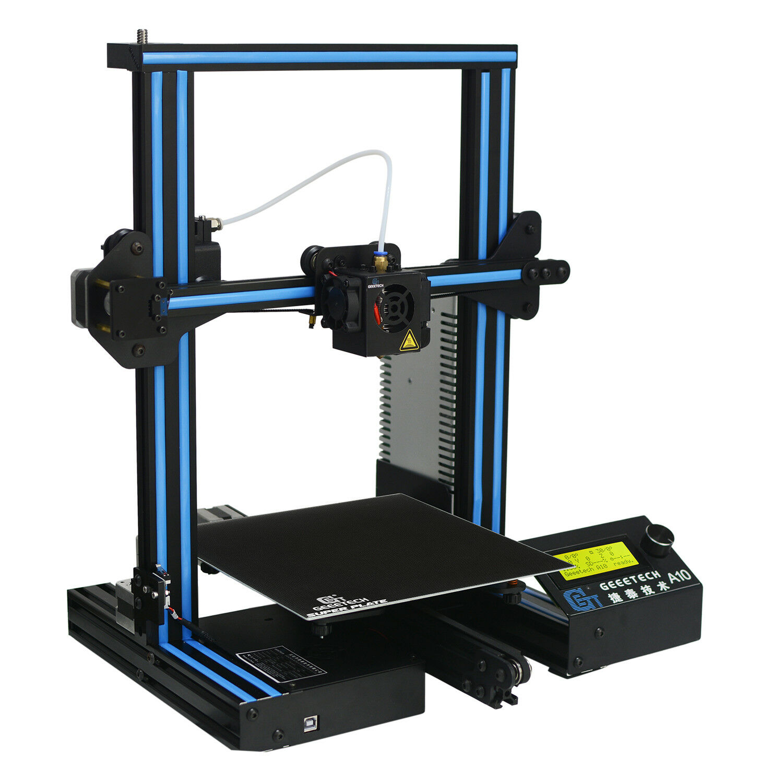 Geeetech 3D Printer A10 Full Metal Frame Filament Upgraded Ender 3 FDM Hotbed