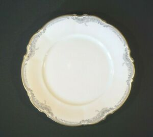 Beautiful-Lorelei-Loreley-Hutschenreuther-Gold-Trim-Dinner-Plate