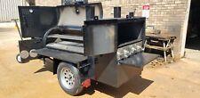Pro Pitmaster Bbq Smoker 36 Griddle 4 Burner 4 Foot Barrel Trailer Food Truck