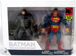 Batman Dark Knight retourne le pack de figurines 2 pièces Frank Miller du 30e anniversaire