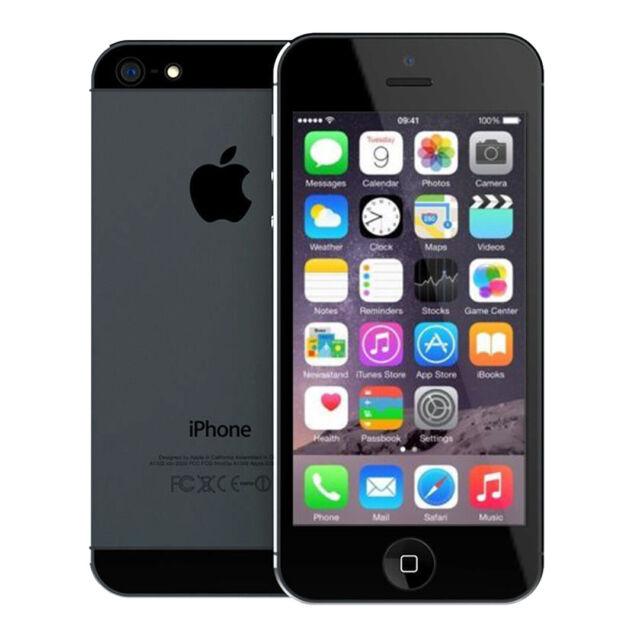 Apple iPhone 5 - 16GB - Black & Slate (Verizon) A1429 ...