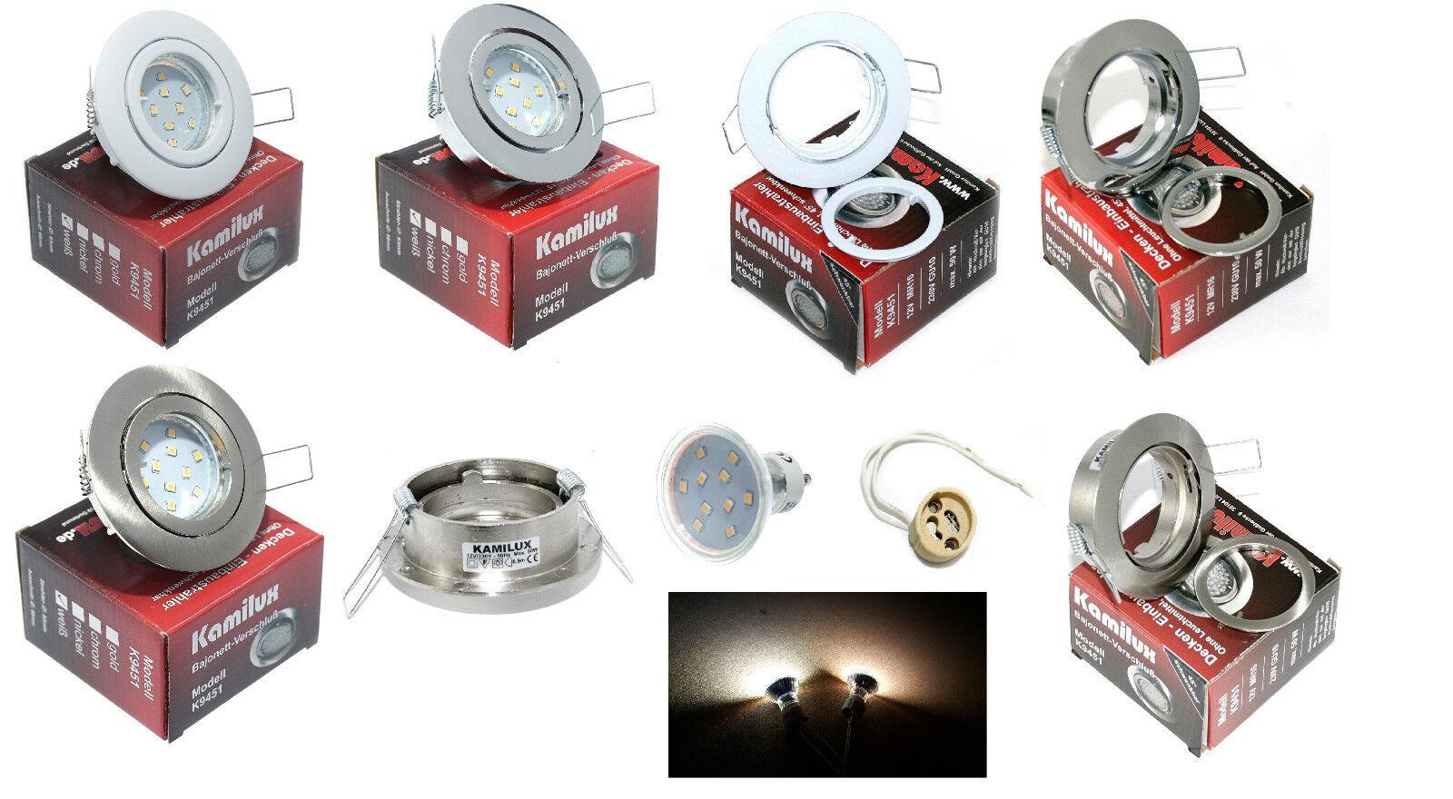 LED soffitto faretti LANA 230v 10er gu10 SMD 3 Watt = 25 Watt
