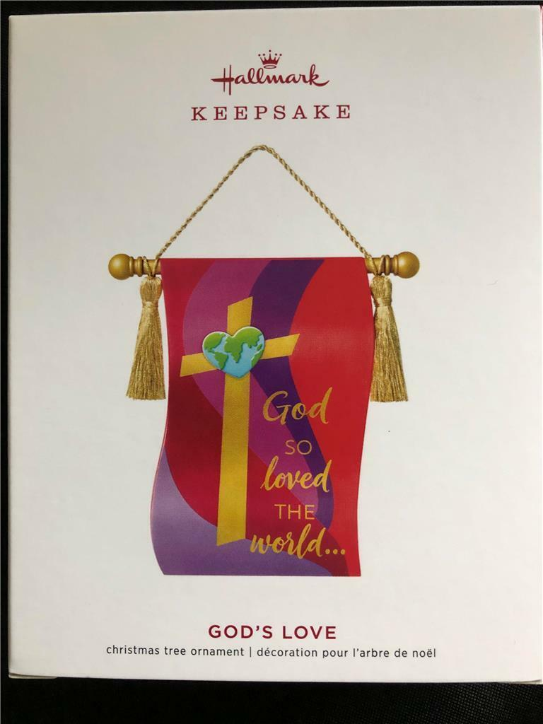 Hallmark Keepsake 2019 God/'s Love Banner Ornament
