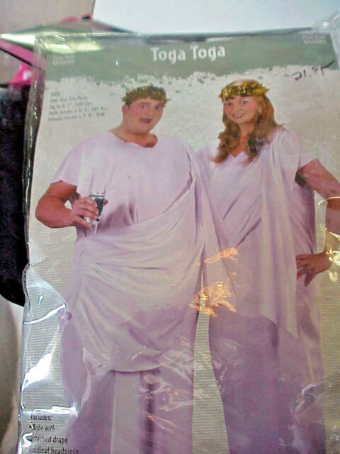 TOGA TOGA  PLUS SIZE  ONE SIZE FITS MOST UP TO 6' 2