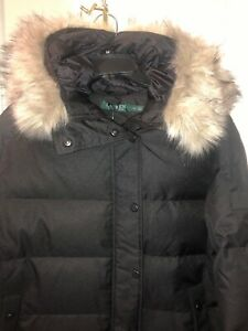 NWT-Ralph-Lauren-Polo-Down-Feathers-Heavy-Puffer-Parka-Jacket-With-Fur-Xl-290