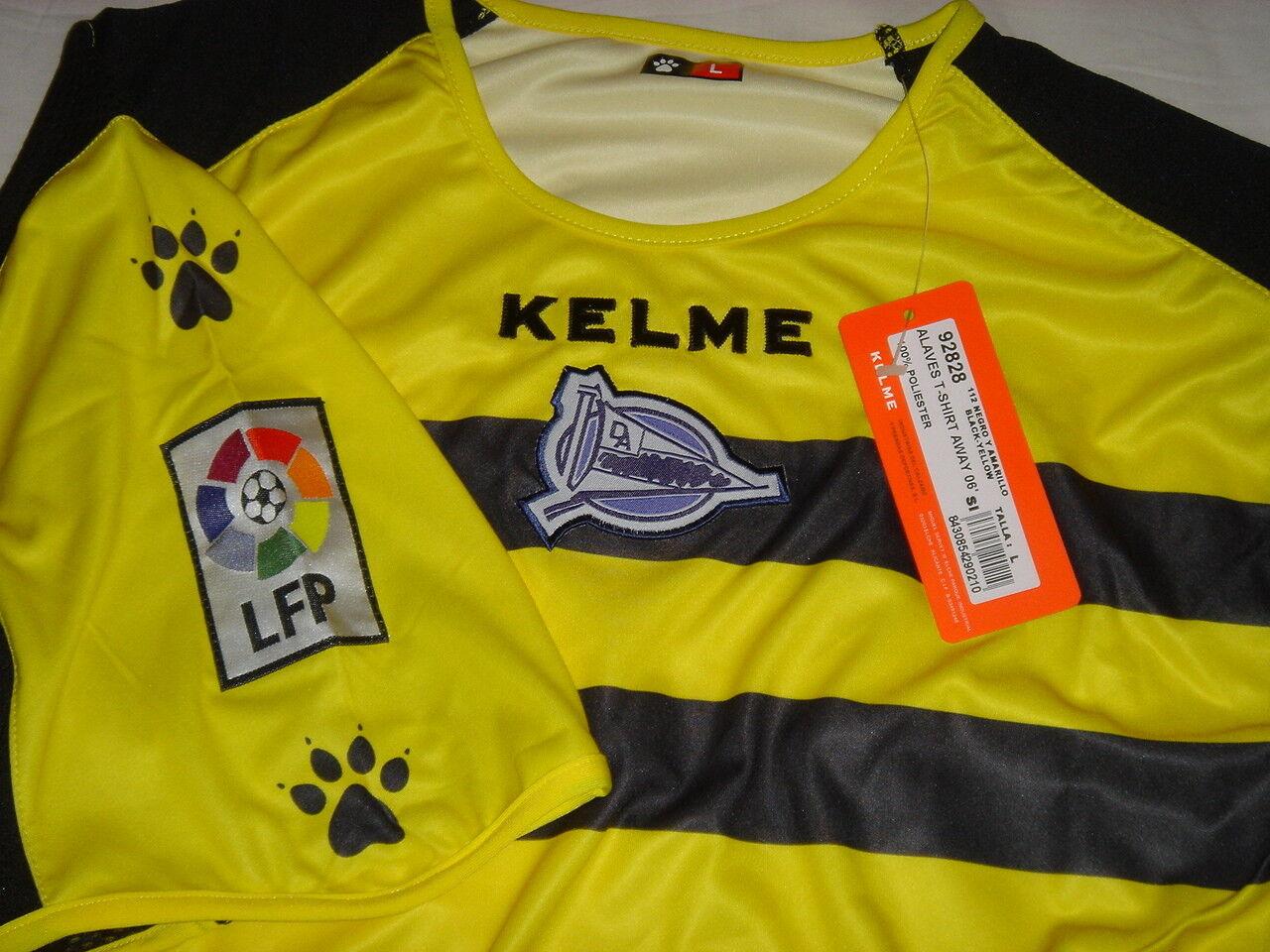Camiseta de fútbol fútbol fútbol Alaves Kelme Nueva  L XL f060cf