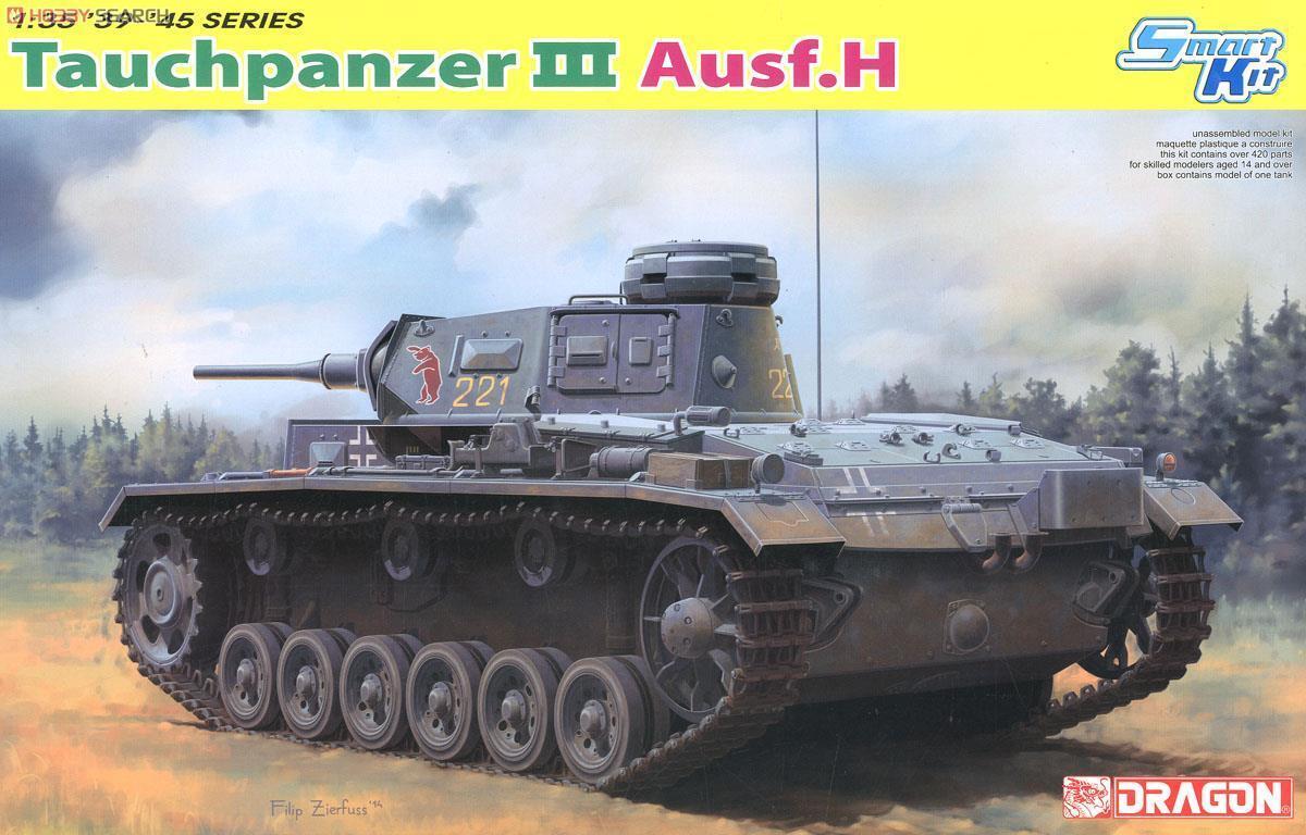 Dragon 1 35 6775 Tauchpanzer Iii Ausf. H Model kit