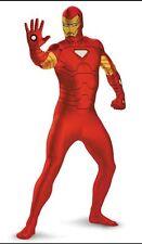 Adult Ironman Morphsuit M 38-40 Avenger Bodysuit - Comic Con Iron Man Skinz