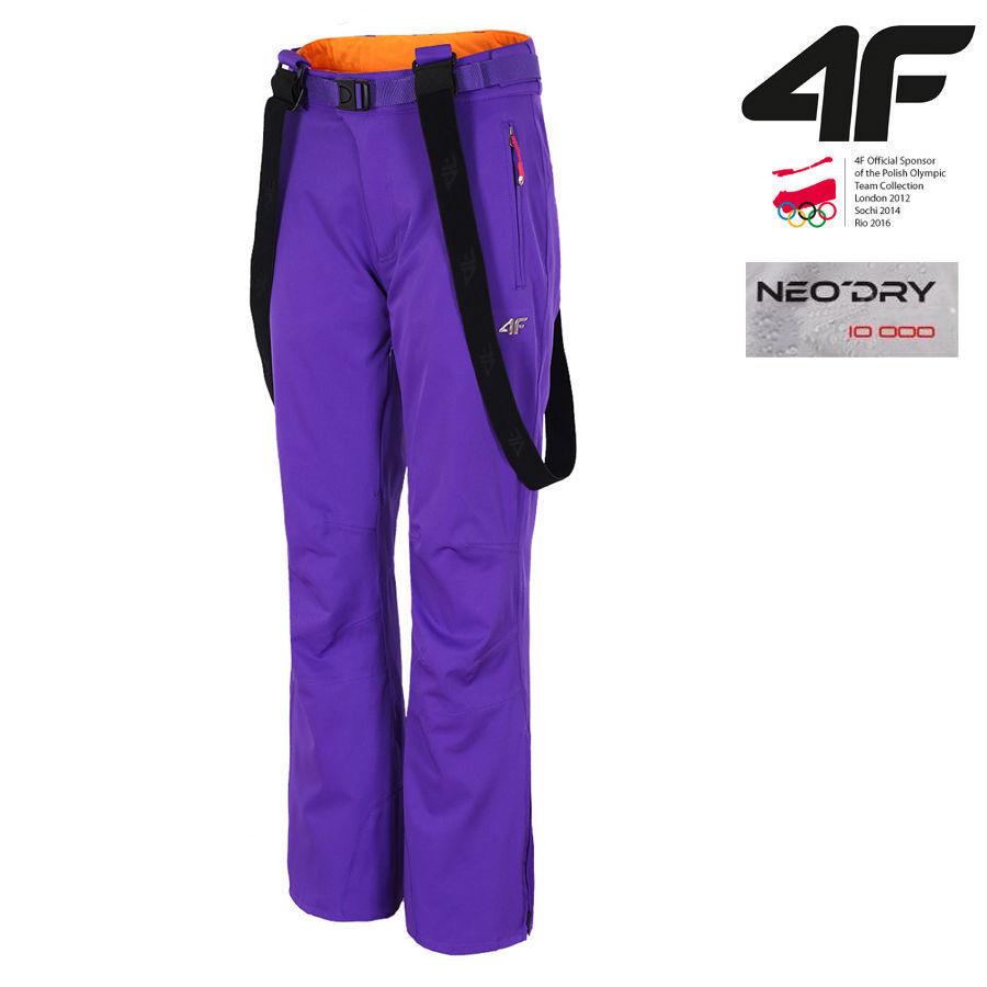 4F Neodry Skihose 10000 Pants Damen Skihose Neodry Lila Damenskihose L/40 NEU 541810