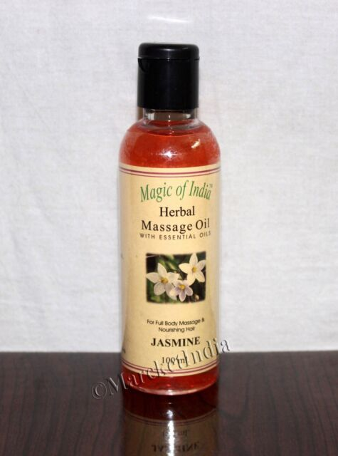 Lotionen & Cremes Magic Of India Jasmine Herbal Massage Essential Oil For Full Body 100 Ml