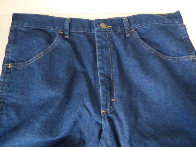 1f0fcdef8a4 Wrangler Jeans Midweight Stretch Denim Jean Dark Wash Straight Leg ...