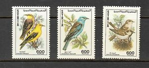 Syria-Stamps-1991-Birds-Complete-set-MNH