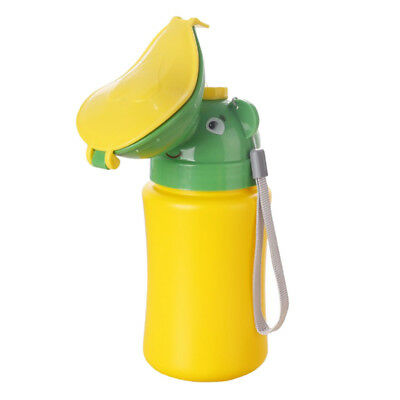 Girl Portable Urinal Potty Emergency Camping Car Travel Toilet Bottle Green