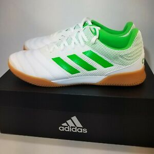 Adidas-Copa-19-3-In-Sala-Indoor-Soccer-Shoes-BC0559-Men-039-s-Size-8-5-white-green