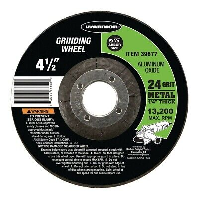 24 Grit Alum 1//4 in Thick 49 Pack 7 in Dia Depressed Center Wheel Oxide