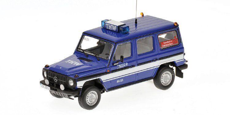 Mercedes 230 ge w460 1991 THW saarbrucken 1 43 Model 400038091 Minichamps