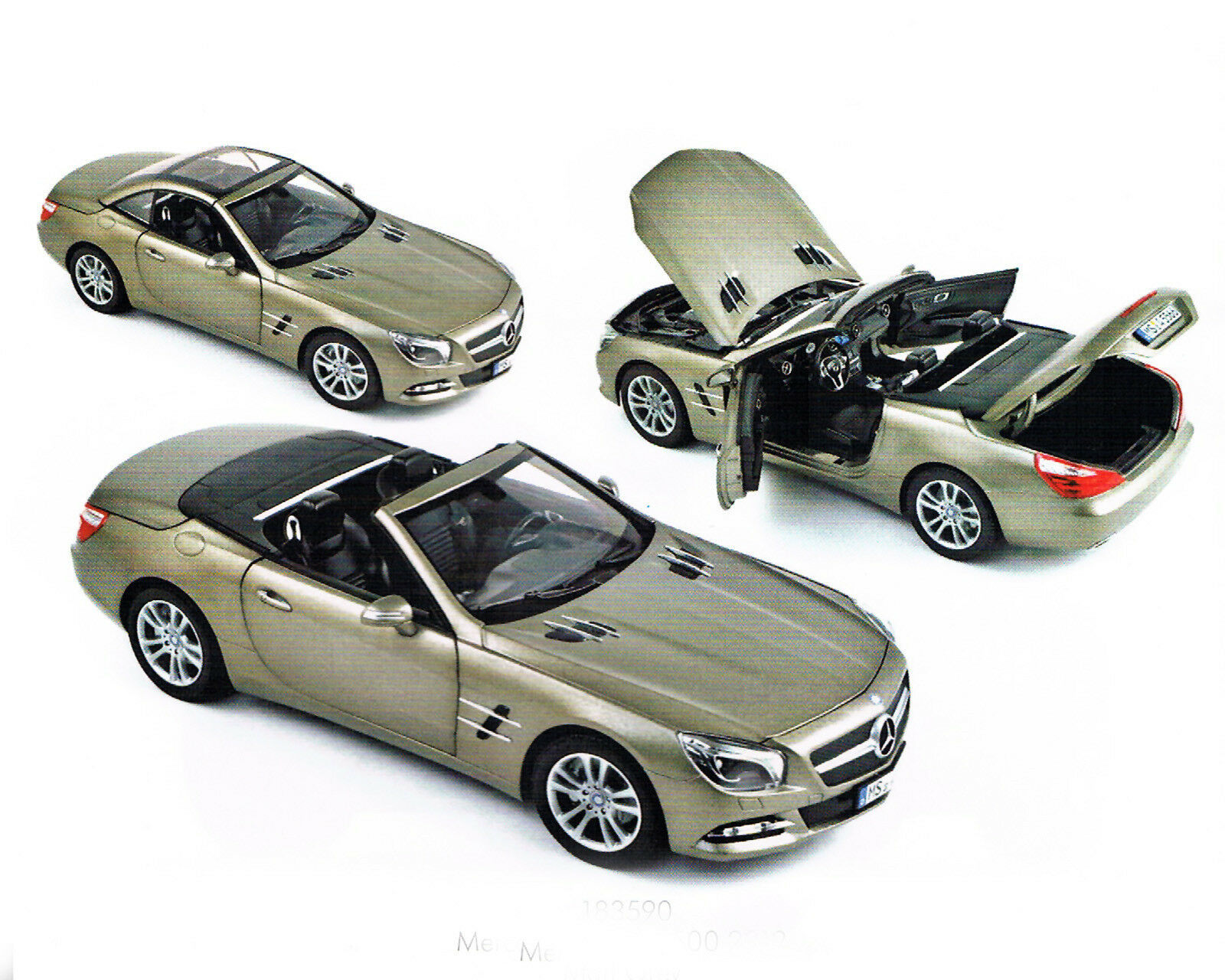 MERCEDES Benz sl 500 cabriolet, 1 18, Norev
