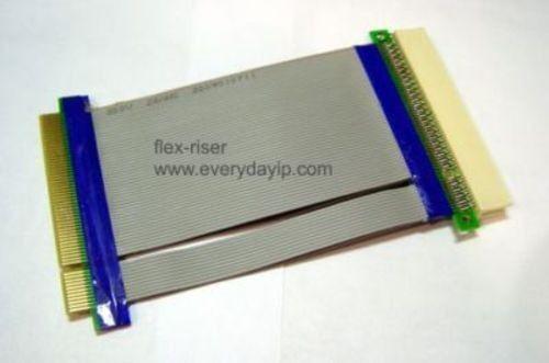 Lot 3 Ribbon Cable Riser 32 Bit 1U 2U 4U Flexible Standard PCI Server Adapter