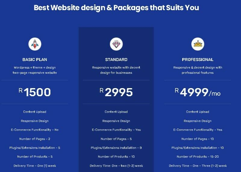 Website design special