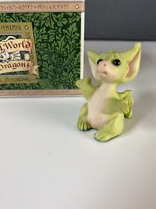Whimsical World of Pocket Dragons Vintage 90s 1994 Boxed But I'm Too Little